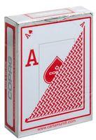 """Карты для покера """"Copag Peek Index"""" (красная рубашка)"""