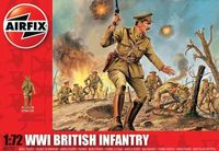 "Набор миниатюр ""Британская пехота WW.I"" (масштаб: 1/72)"