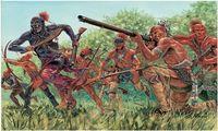 """Набор миниатюр """"Индийские воины"""" (масштаб: 1/72)"""