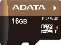 Карта памяти micro SDHC 16Gb A-Data Class 10 Premier Pro UHS-I (без адаптера)