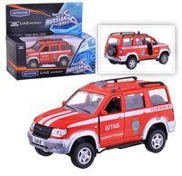 """Модель машины """"УАЗ Патриот. Пожарная охрана"""" (масштаб: 1/43)"""