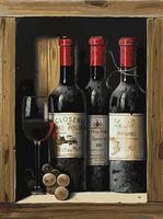 """Картина по номерам """"Коллекционное вино"""" (300х400 мм)"""