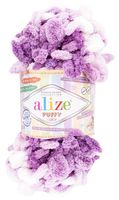 """Пряжа """"ALIZE. Puffy Color №5923"""" (100 г; 9 м; секционный)"""