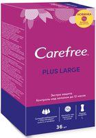 "Ежедневные прокладки ""Carefree Large Plus"" (36 шт.)"