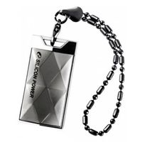 USB Flash Drive 64Gb Silicon Power Touch 850 Titanium