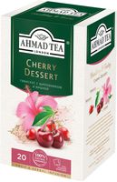 "Фиточай ""Ahmad Tea. Cherry Dessert"" (20 пакетиков)"