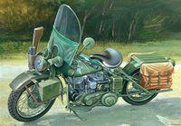"Мотоцикл ""Американский военный мотоцикл WWII"" (масштаб: 1/9)"