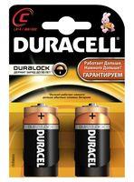 Батарейка DURACELL C LR14 MN1400 Alkaline (2 шт)