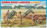 "Набор миниатюр ""German Rocket Launcher w/Crew"" (масштаб: 1/35)"