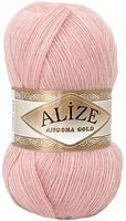 "Пряжа ""ALIZE. Angora Gold №161"" (100 г; 550 м; бледно-розовый)"