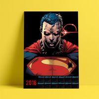 """Календарь настенный """"Супермен"""" (2018; арт. 20)"""
