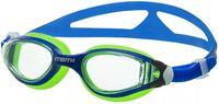 Очки для плавания (сине-салатовые; арт. B601)