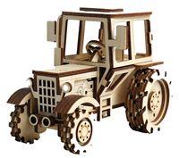 """Сборная деревянная модель """"Трактор"""""""