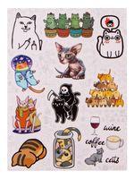 """Набор наклеек №656 """"Cat"""""""