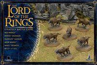 "Набор миниатюр ""LotR/The Hobbit. Wild Wargs"" (11-08)"