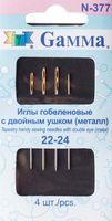 Иглы гобеленовые с двойным ушком (4 шт.; закругленные)
