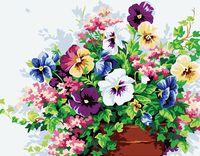 "Картина по номерам ""Цветочная композиция"" (400х500 мм)"