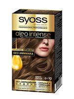 """Краска для волос """"Oleo intense"""" тон: 6-10, темно-русый"""
