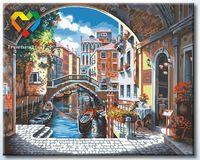 """Картина по номерам """"Венецианская арка"""" (400x500 мм; арт. HB4050337)"""