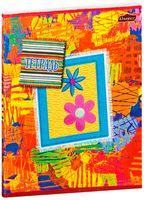 """Тетрадь в клетку """"Разноцветие"""" 48 листов"""