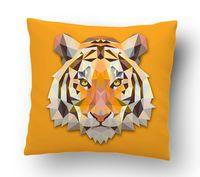 "Подушка маленькая ""Тигр"" (арт. 30; 15x15 см)"
