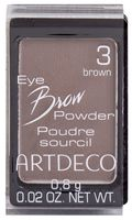 "Тени для бровей ""Eye Brow Powder"" (тон: 3, brown)"