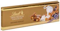 """Шоколад молочный """"Lindt. С изюмом и лесным орехом"""" (300 г)"""