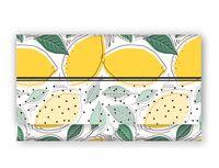 """Конверт для денег """"Лимоны"""""""