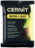 """Глина полимерная """"CERNIT Neon Light"""" (жёлтый; 56 г)"""