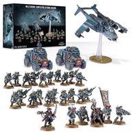 "Набор миниатюр ""Warhammer 40.000. Astra Militarum Militarum Tempestus Storm Scions"" (47-50)"