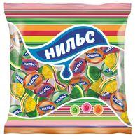 """Карамель жевательная """"Нильс"""" (180 г; вишня, яблоко и апельсин)"""