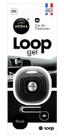 """Ароматизатор для автомобиля """"Loop Gel"""" (black)"""