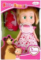 "Музыкальная кукла ""Маша и Медведь. Маша"""
