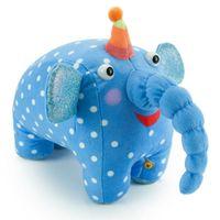"""Мягкая музыкальная игрушка """"Деревяшки. Слон Ду-ду"""" (15 см)"""
