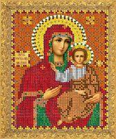 """Вышивка бисером """"Пресвятая Богородица. Смоленская"""" (157х117 мм)"""