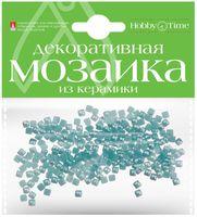Мозаика декоративная из керамики №2 (4х4 мм; 200 шт.; голубой)