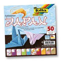 """Бумага цветная для оригами """"Япония"""" (150х150 мм; 50 листов)"""
