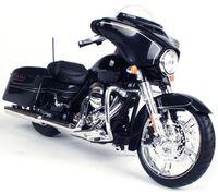 """Модель мотоцикла """"Street Glide Black"""" (масштаб: 1/12)"""