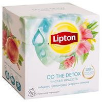 "Фиточай ""Lipton. Do the Detox"" (20 пакетиков)"