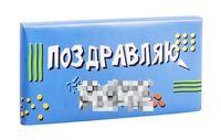 "Шоколад молочный ""Поздравляю, мудак"" (80 г)"
