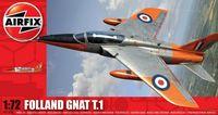 """Истребитель """"Folland Gnat T.1"""" (масштаб: 1/72)"""