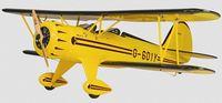 """Самолет на радиоуправлении """"Waco Yellow PNP"""""""