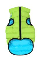 "Куртка двусторонняя ""Airy Vest"" (42-45 см; салатово-голубая)"