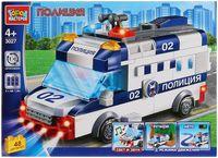"""Конструктор """"Полиция. Полицейская машина"""" (48 деталей; со световыми и звуковыми эффектами)"""