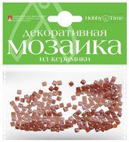 Мозаика декоративная из керамики №5 (4х4 мм; 200 шт.; коричневый)