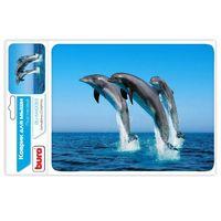 Коврик для мыши Buro BU-M40083 (рисунок/дельфины)