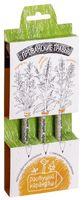 """Набор для выращивания растений """"Растущий карандаш. Прованские травы"""" (графитные; 3 шт.)"""