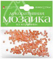 Мозаика декоративная из керамики №9 (4х4 мм; 200 шт.; оранжевый)