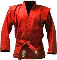 Куртка для самбо JS-302 (р. 0/130; красная)