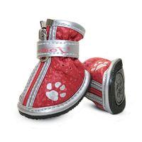 """Ботинки с """"лапками"""" (4,5х3,5х4,5 см; красные)"""